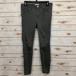 LOFT Gray Legging Skinny Jeans 6/28